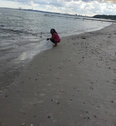 *That moment at the beach when you are at peace with yourself*