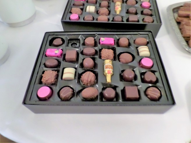 *The Famous Danish Anthon Berg Chocolates*
