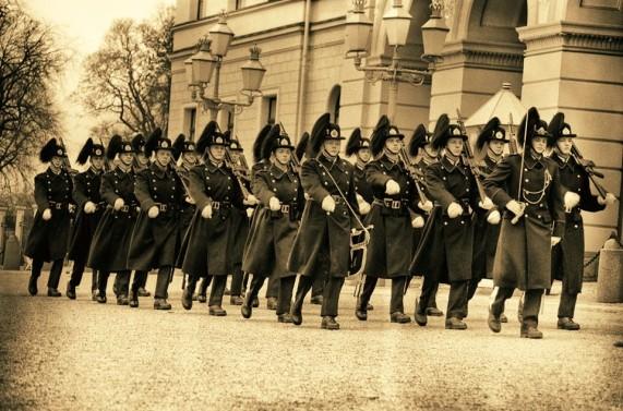 Military parade at Oslo Norway (2)