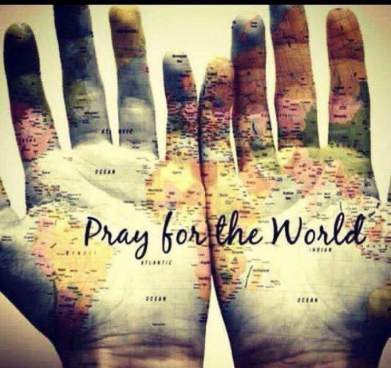 Pray for the world. fb