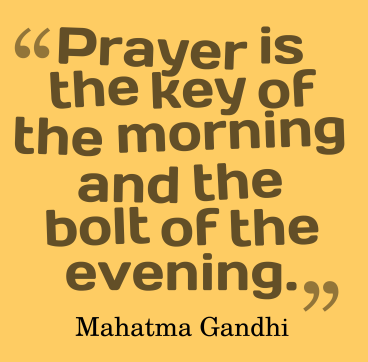 prayer-is-the-key-of-the-morning-and-the-bolt-of-the-evening (2)