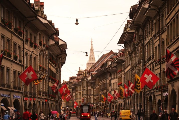 Switzerland flags (2)