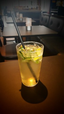*Cool Lemon Drink with mint*